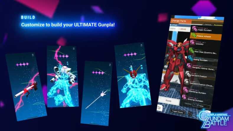 GUNDAM BATTLE GUNPLA WARFARE for PC
