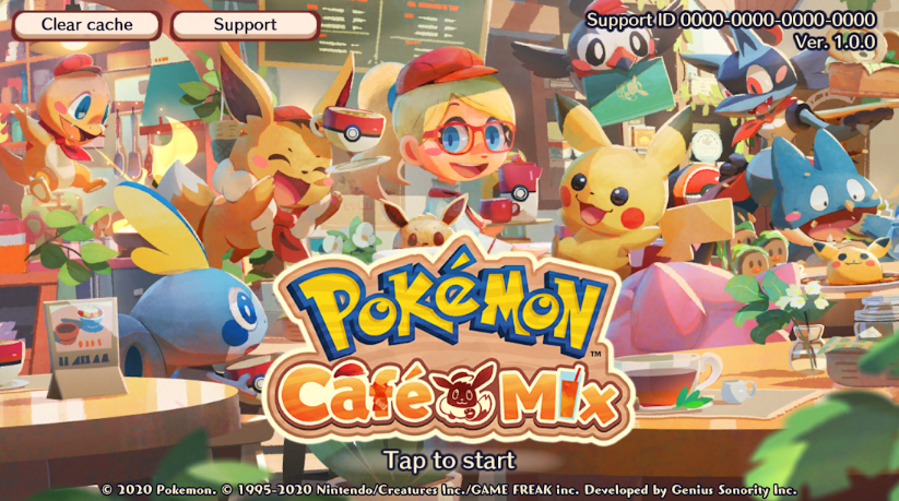Pokemon Cafe Mix for PC