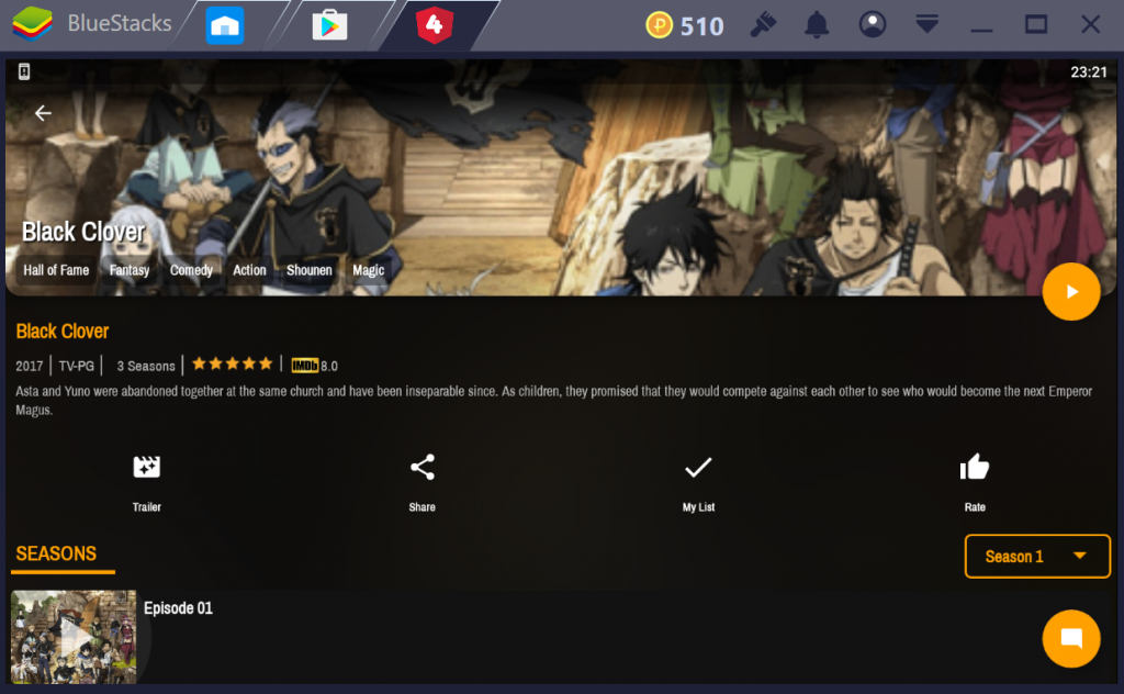 4ANIME for PC