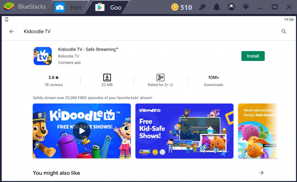 Kidoodle TV for PC