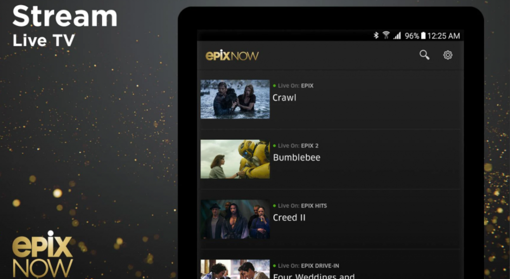 EPIX NOW for PC