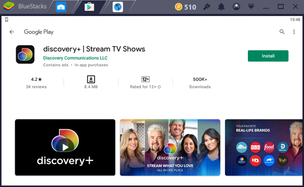 discovery Plus for PC